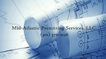 Blueprints- Mid-Atlantic Permitting Services, LLC  with phone number