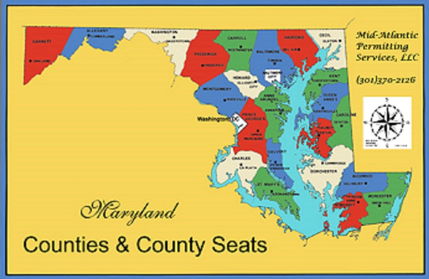 Maryland Counties- Mid-Atlantic Permitting Services, LLC